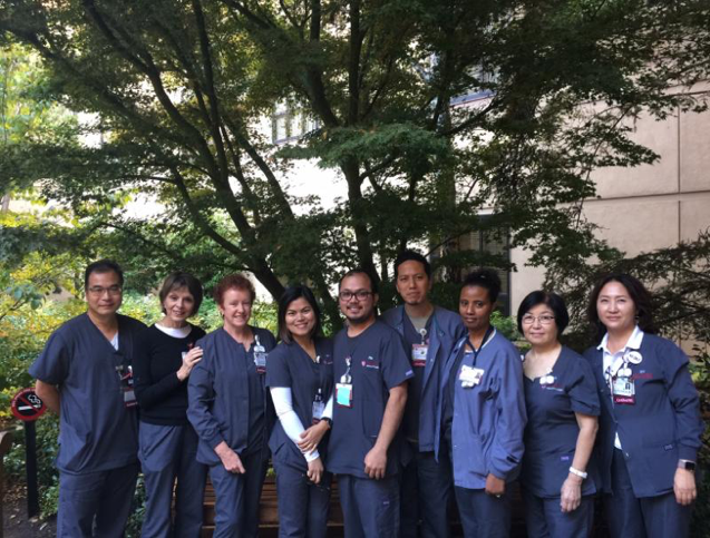 Staff members of Stanford Dialysis Unit